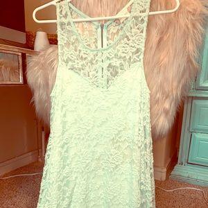 Altar'd State Mint Fairyesque Dress